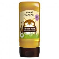 Sweet Freedom Vanilla Coffee Syrup 350ml
