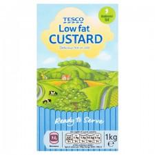 Tesco Low Fat Ready To Serve Custard 1Kg