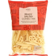 Marks and Spencer Ready Salted Combo Mix 150g