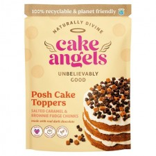 Cake Angels Salted Caramel Brownie Posh Toppers 90g