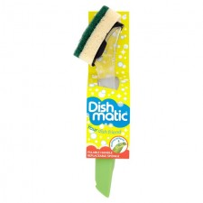Dishmatic Fillable Washing Up Tool with Replaceable Sponge