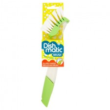 Dishmatic Fillable Washing Up Brush with Replaceable Brush