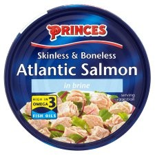 Princes Atlantic Salmon Steak In Brine 160g