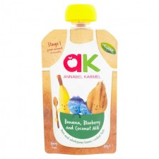 Annabel Karmel Organic Banana Blueberry and Coconut Milk 100g