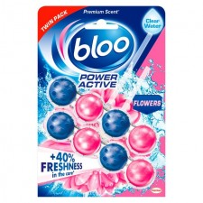 Bloo Power Active Flowers Twin Pack 2 x 50g