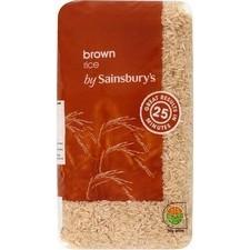 Sainsburys Brown Rice 1kg