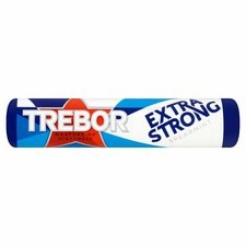 Retail Pack Trebor Extra Strong Spearmint 40x41.3g Roll Pack