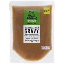 Marks and Spencer Made Without Wheat Deliciously Rich Gravy 300g pouch