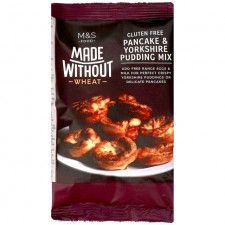 Marks and Spencer Made Without Wheat Pancake and Yorkshire Pudding Batter Mix 100g