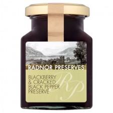 Radnor Preserves Blackberry and Cracked Pepper Preserve 240g