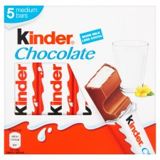Kinder Chocolate 5 Pack 105g