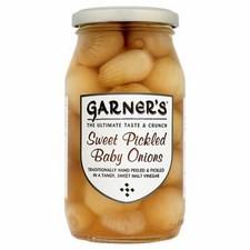 Garners Sweet Baby Onions 454g