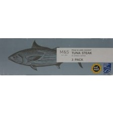 Marks and Spencer Tuna Steak in Spring Water 3 x 80g
