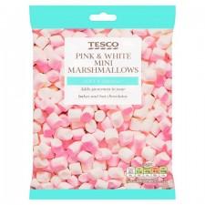 Tesco Pink and White Mini Marshmallows 100g