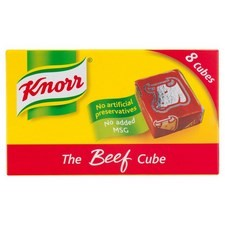 Retail Pack Knorr The Beef Cube 12x8 Cubes