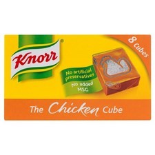 Retail Pack Knorr The Chicken Cube 12x8 Cubes