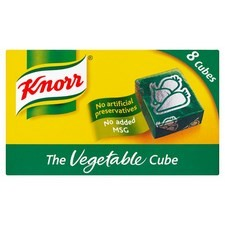 Retail Pack Knorr The Vegetable Cube 12x8 Cubes