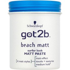 Schwarzkopf Got2b Beach Matte Paste 100ml