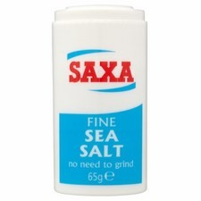 Saxa Fine Sea Salt Mini Pot 65g