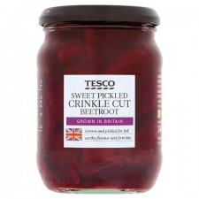 Tesco Sweet Pickled Crinkle Cut Beetroot 340g