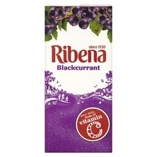 Ribena Blackcurrant Ready to Drink 1L Carton