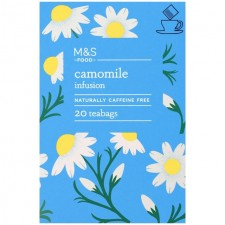 Marks and Spencer Camomile Infusion 20 Teabags