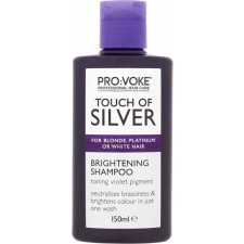 Pro-Voke Touch of Silver Weekly Treatment Brightening Shampoo 150ml