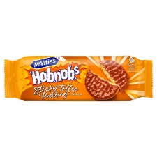 McVities Sticky Toffee Pudding Hobnobs Rollwrap 262g