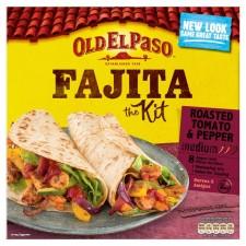 Old El Paso Fajita Dinner Kit Roasted Tomato and Pepper 500g