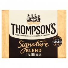 Thompsons Punjana Signature 80 Teabags
