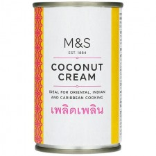 Marks and Spencer Coconut Cream 160g tin
