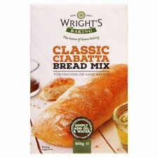 Wrights Ciabatta Bread Mix Case of 15x500g bags