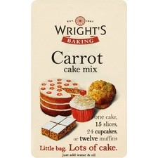 Wrights Carrot Cake Mix Case of 15x500g