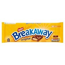 Nestle Breakaway Biscuits Milk Chocolate 8 Pack