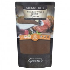 Atkins and Potts Free From Beef Gravy with Red Wine and Thyme 350g