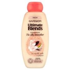 Garnier Ultimate Blends Silky Smoother Shampoo 360ml