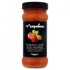 Napolina Tomato and Red Pepper Sauce 350g