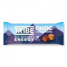TRIBE Vegan Energy Choc Salt Caramel Bar 50g