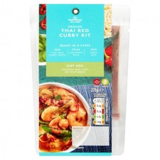 Morrisons Thai Red Curry Meal Kit 278g