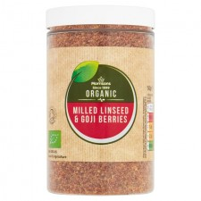 Morrisons Organic Milled Linseeds and Goji Seeds 150g