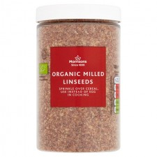 Morrisons Organic Milled Linseeds 180g
