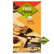 Morrisons Free From Crackers 200g