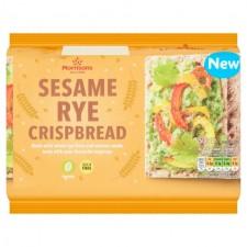 Morrisons Sesame Rye Crispbread 250g