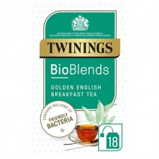 Twinings Bioblends Golden English Breakfast Tea with Friendly Bacteria 18 per pack