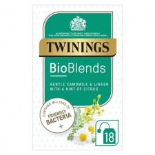 Twinings Bioblends Camomile and Linden Tea with Friendly Bacteria 18 per pack