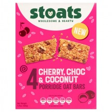 Stoats Cherry Chocolate and Coconut Bar Multipack 4 x 42g