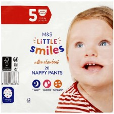 Marks and Spencer Nappy Pants Size 5 - 20 per pack