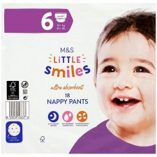 Marks and Spencer Nappy Pants Size 6 - 18 per pack
