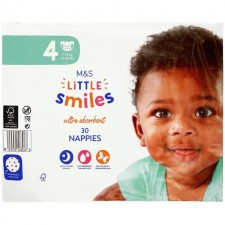 Marks and Spencer Baby Nappies Size 4 - 30 per pack