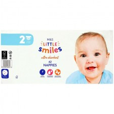 Marks and Spencer Baby Nappies Size 2 - 42 per pack